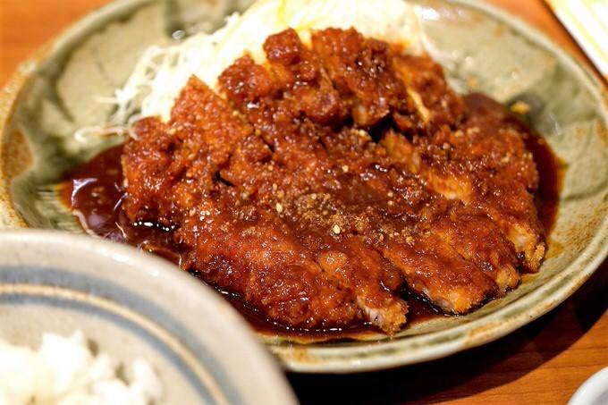名古屋の味噌カツ
