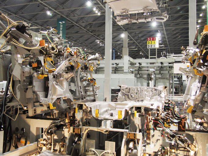 名古屋の観光地・トヨタ産業技術記念館