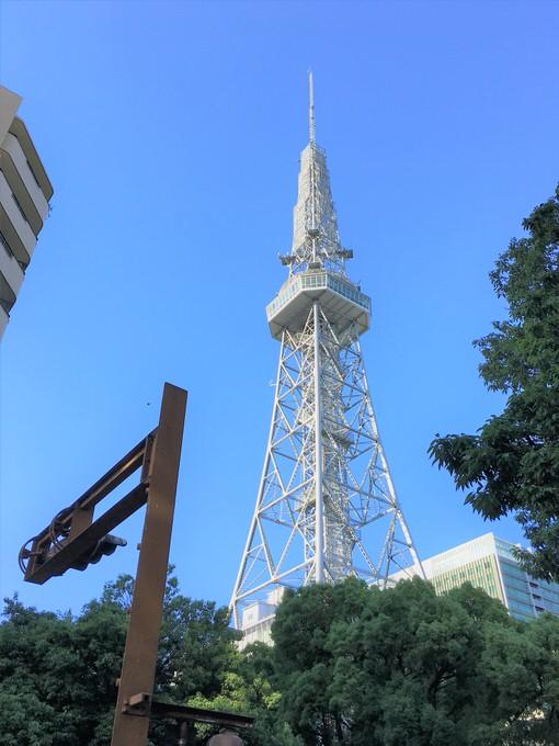 名古屋テレビ塔(真下から撮影)