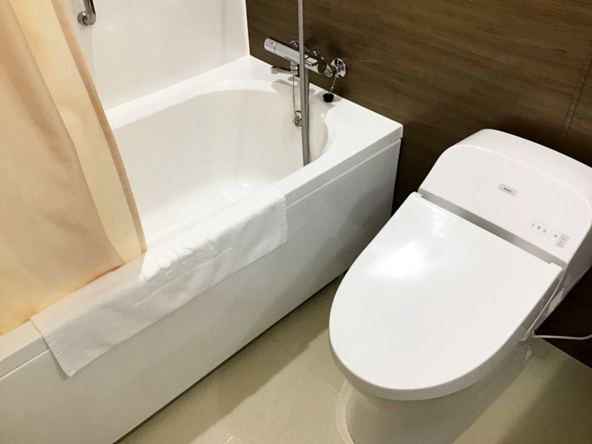 ロワジールホテル豊橋のお風呂