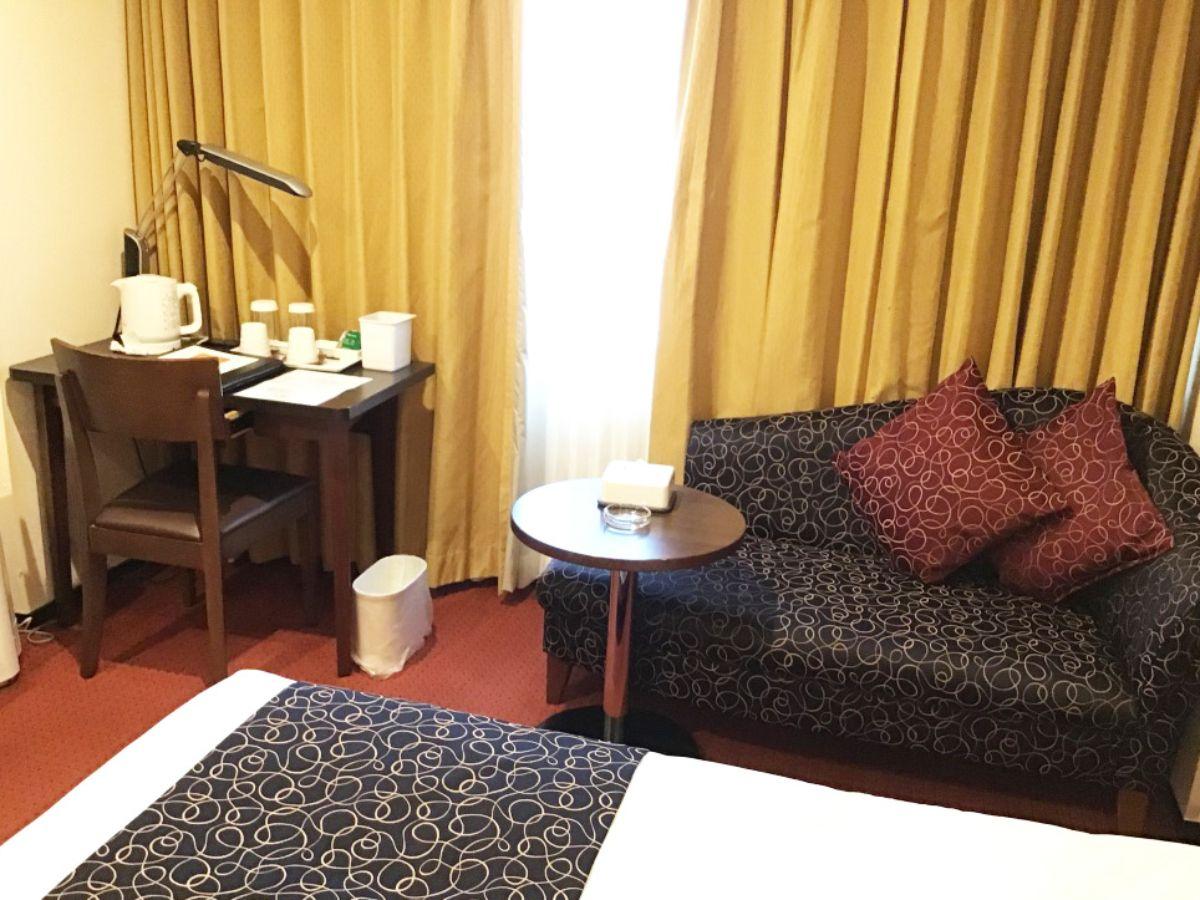 ロワジールホテル豊橋の客室