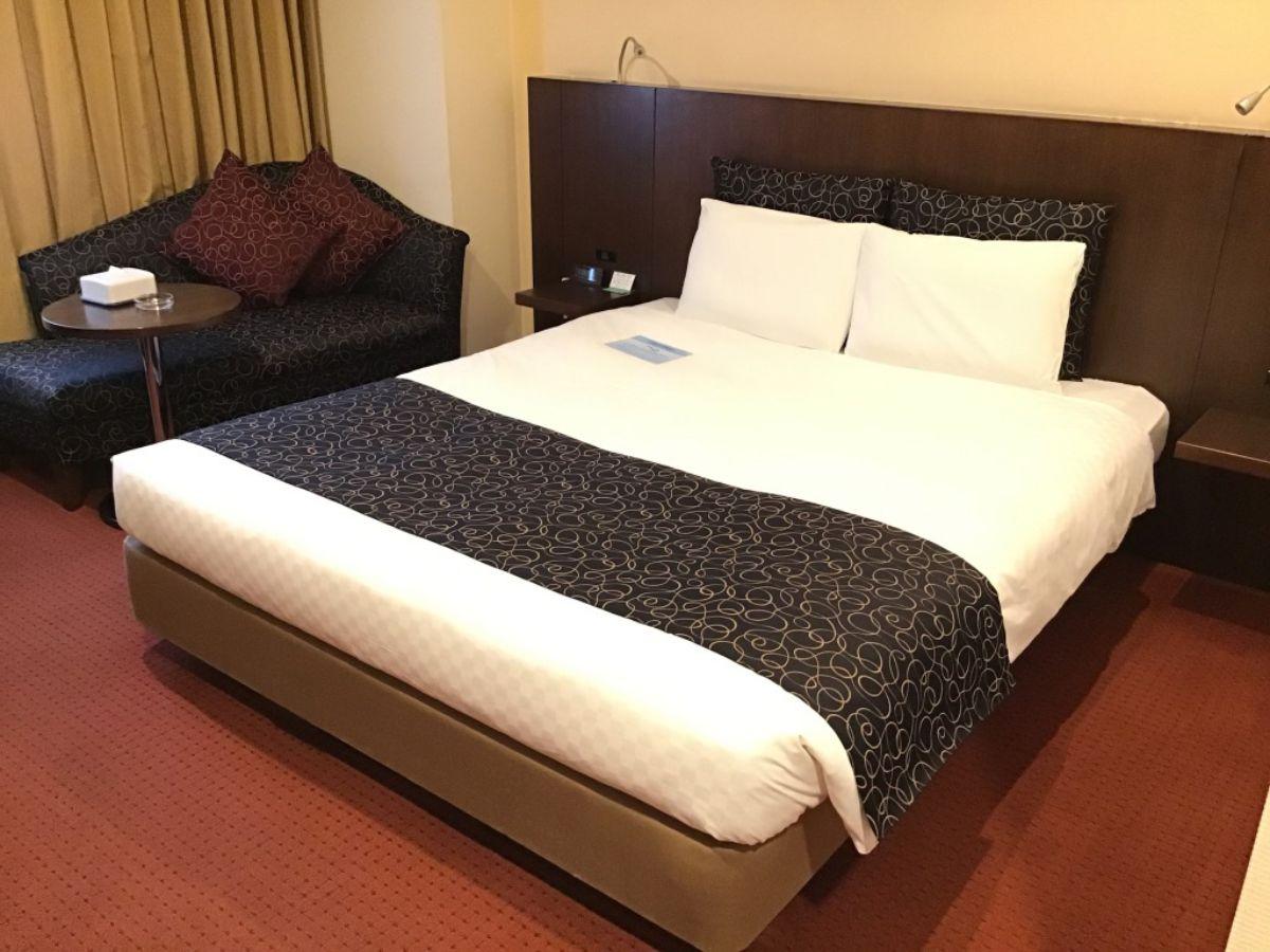 ロワジールホテル豊橋のベッド