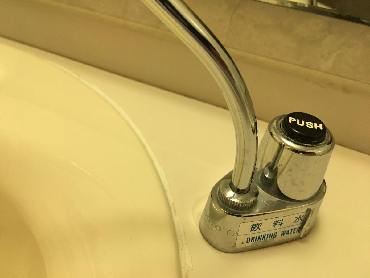 ホテルコンコルド浜松の洗面所