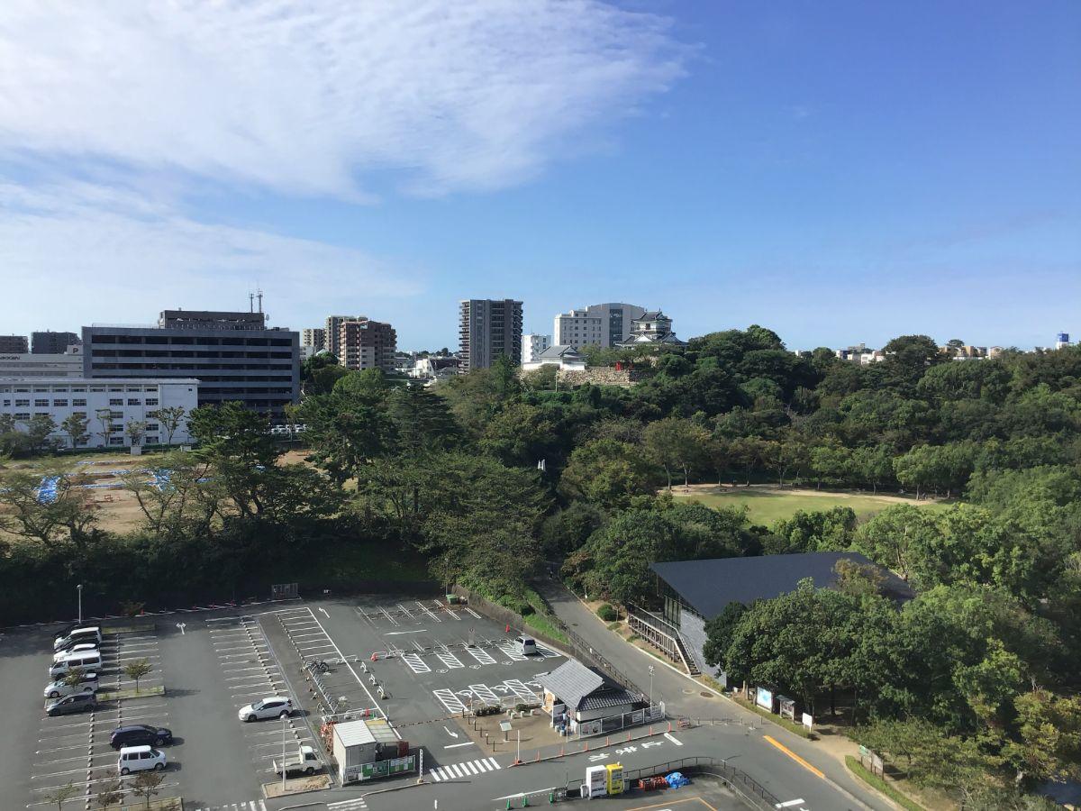 ホテルコンコルド浜松からの景色