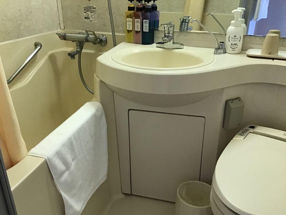ホテルコンコルド浜松の風呂・トイレ