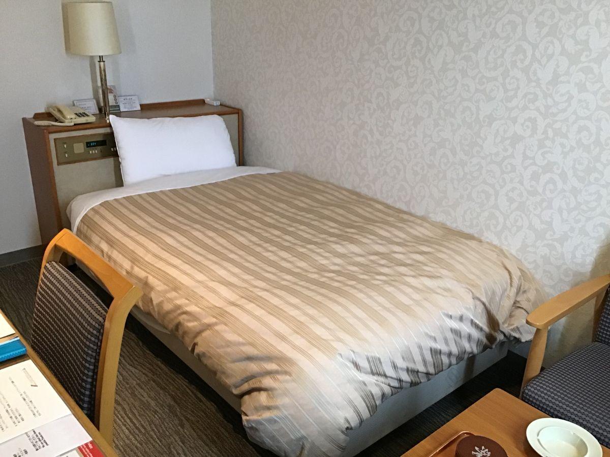 ホテルコンコルド浜松のベッド
