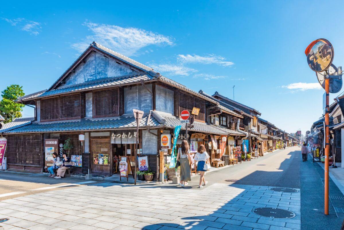 犬山城下町